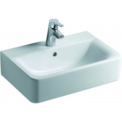 CONNECT Lavabo compact 550 x 175 x 375 mm, blanc (E714001)