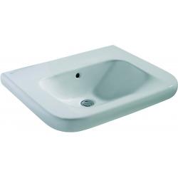 CONTOUR 21 Lavabo pour personnes à mobilité réduite (sans trou ) 600 x 175 x 555 mm blanc IdealPlus (S2404MA)