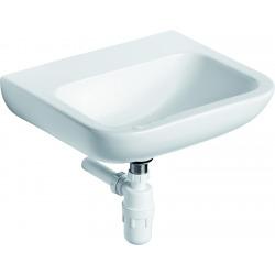 CONTOUR21 Lave-mains 400 x 117 x 365 mm (sans trou/ouverture), blanc (S240701)