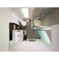 Sprchová vanička keramická 800 x 800 mm, bílá