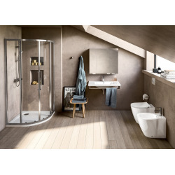 Sprchová vanička 900 x 900 mm, bílá