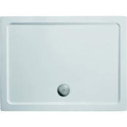 Sprchová vanička litý mramor 1210 x 810 mm, bílá