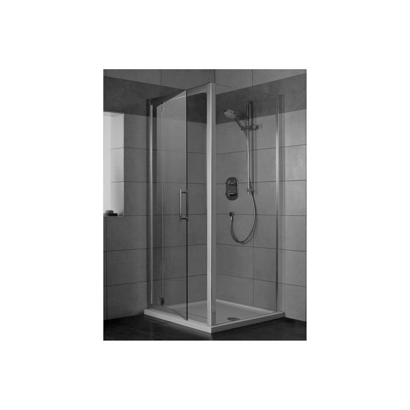 porte de douche pivotante 90 cm l6362eo livea sanitaire sas. Black Bedroom Furniture Sets. Home Design Ideas