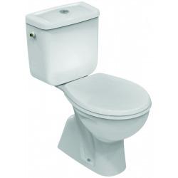 EUROVIT WC avec sortie verticale - à poser 355 x 760 x 655 mm blanc (V335701)