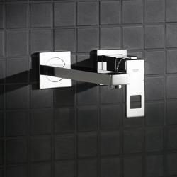 Eurocube - Façade de Mitigeur monocommande 2 trous lavabo Taille M (23447000)