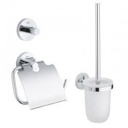 Essentials Set d'accessoires 3 en 1, chrome (40407001)