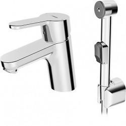 Mitigeur monocommande de lavabo avec douchette (49462203)