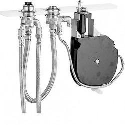 Robinetterie sur gorge encastrable 3 trous HANSA, DN 20 pour bec d'écoulement de baignoire indépendant, DN 20 (53030200)