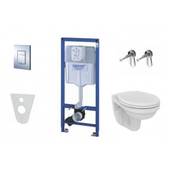 Grohe Rapid SL- Cuvette Ideal Standard - Abattant Softclose, ensemble complet