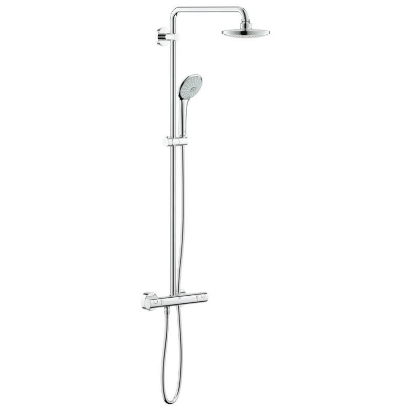 euphoria system 180 colonne de douche avec mitigeur. Black Bedroom Furniture Sets. Home Design Ideas