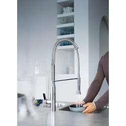 K7 — Mitigeur de cuisine avec douchette professionnelle 360° (petit modèle) (31379000)