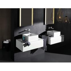 Eurocube Joy Façade de Mitigeur monocommande 2 trous lavabo Taille L