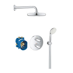 Grohtherm 1000 Set de douche avec Tempesta 210 (34614001)