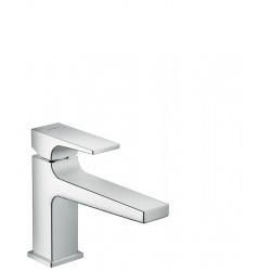 Hansgrohe Metropol Metropol 100 Mitigeur de lavabo poignée manette bec long, bonde Push-Open chrome (32502000)