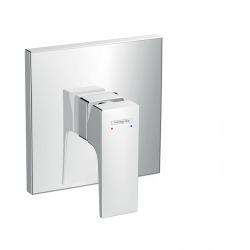 Metropol Set de finition pour mitigeur douche encastré, poignée manette, chromé (32565000)